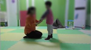 阳光鹿童康复中心―不随意运动型脑瘫患儿案例