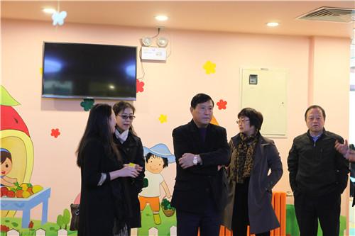 北京市及昌平区残联领导视察阳光鹿童